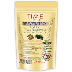 Resveratrol - 180 Capsules - Natural Trans-Resveratrol - 3 Month Supply - Split Dose for maximum benefits from Trans-Resveratrol