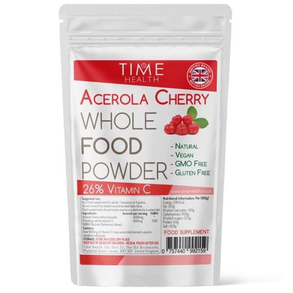 Acerola Cherry Powder - 26% Natural Vitamin C