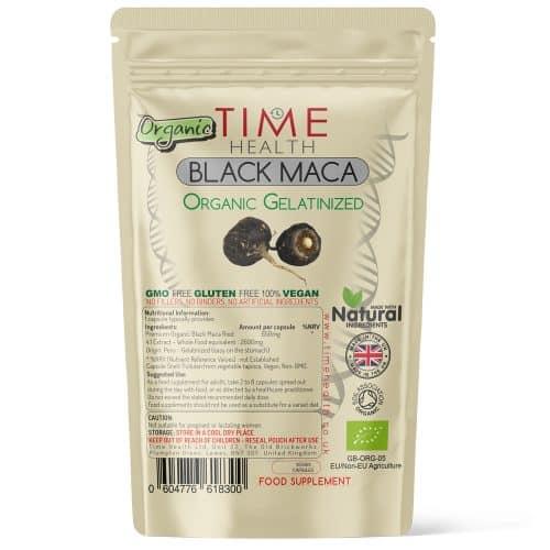 Organic Black Maca - Gelatinized - Capsules