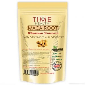 Maca Root Capsules 6000mg 0.6% macamides and macaenes
