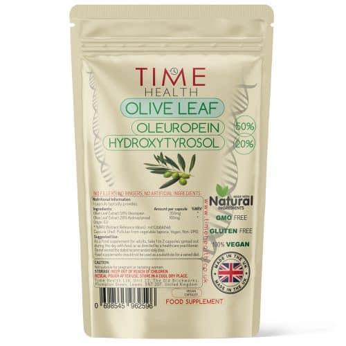 Olive Leaf Extract - 50% Oleuropein / 20% Hydroxytyrosol - Capsules