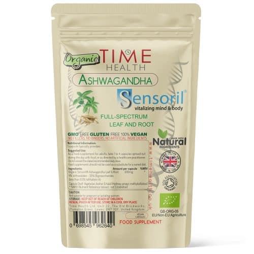 Ashwagandha Sensoril Capsules - 11% Withanolides