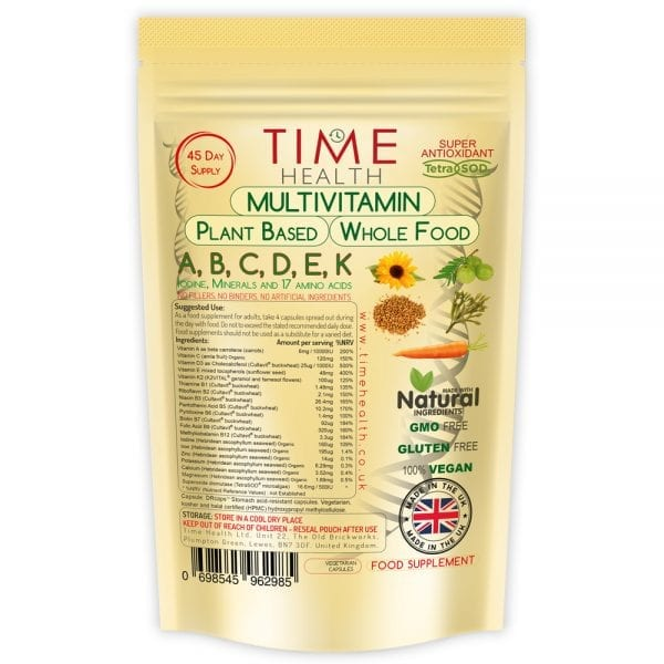 multivitamin natural plant based whole food