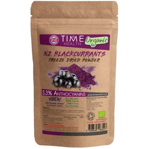 Organic Viberi Blackcurrant Powder 3.3% Anthocyanins