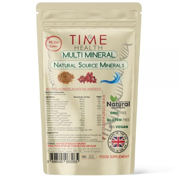 Multi Mineral - Natural Source Minerals - Capsules