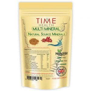 Multi Mineral Natural Sourced and Plant Based 180 Capsules