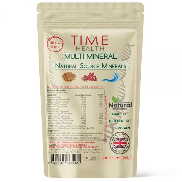 Multi Mineral - 120 Capsules - Natural Source Minerals