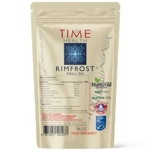 Krill Oil Softgels - Premium Brand RIMFROST