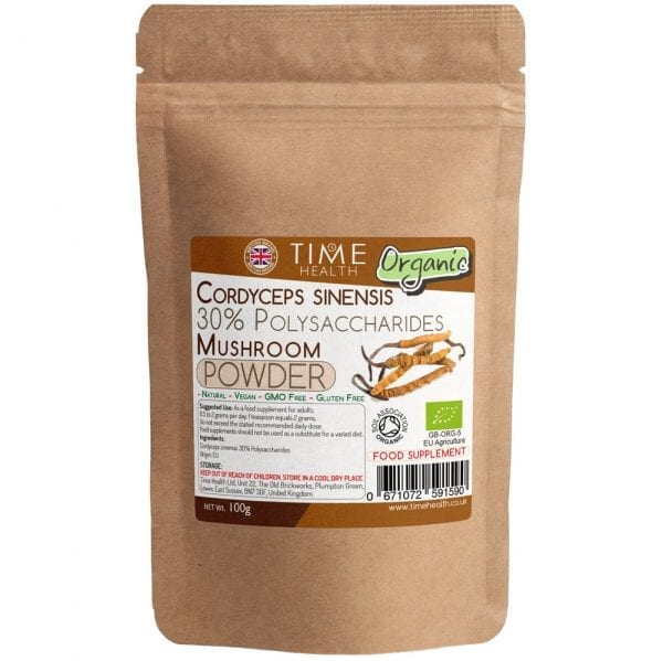 organic cordyceps sinensis powder