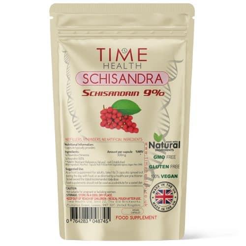Schisandra Chinensis - 9% Schisandrin - Capsules