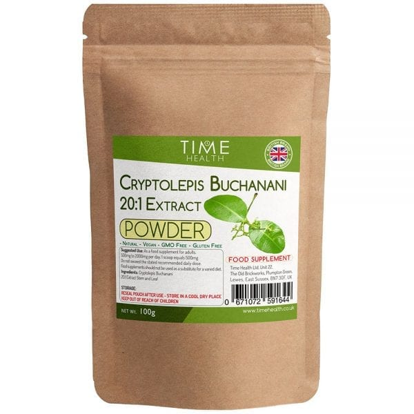 Cryptolepis Buchanani Powder 20:1 Extract - Full Spectrum Stem and Leaf