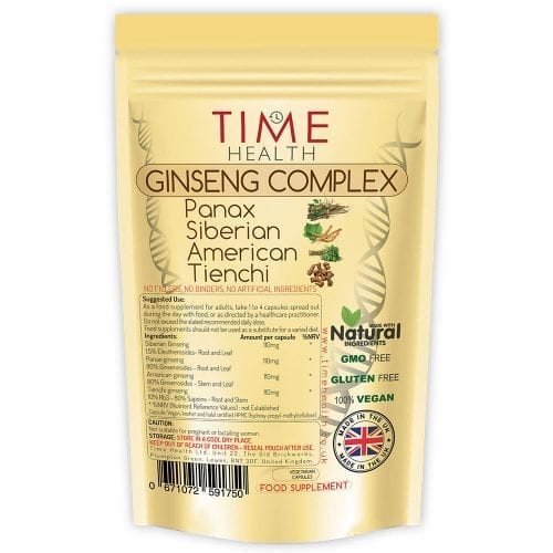 Ginseng Complex - Panax - Siberian - American - Tienchi