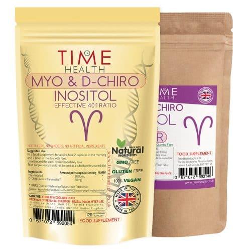 Myo & D Chiro Inositol Capsules and Powder