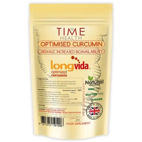 longvida curcumin capsules