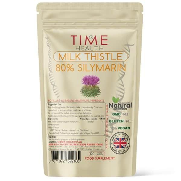 Milk Thistle - 80% Silymarin - Capsules