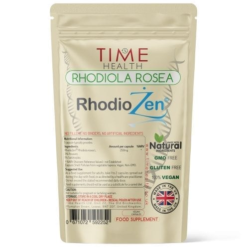 Rhodiola Rosea - Made with RhodioZen - Capsules