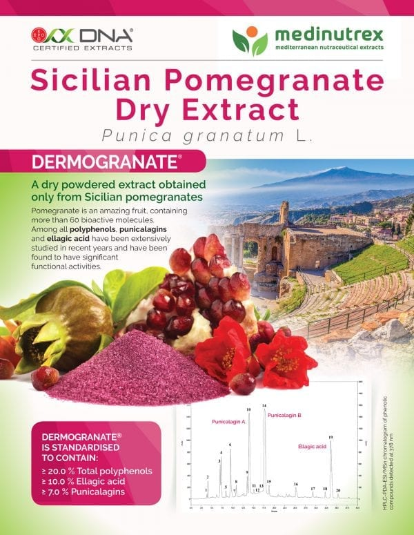 Sicilian pomegranate extract