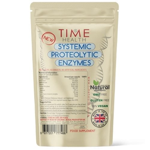 Systemic Proteolytic Enzymes - Repair & Recovery - Capsules