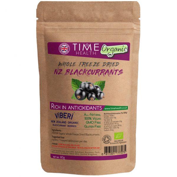 Whole Freeze Dried Blackcurrants