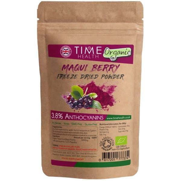 organic Maqui Berry Freeze Dried Powder