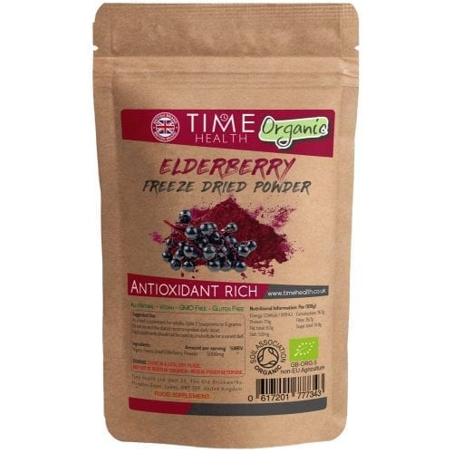 elderberry freeze dried powder