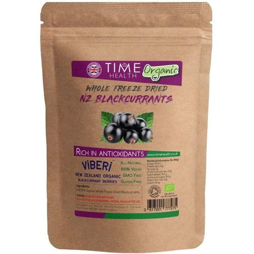 viberi freeze dried organic blackcurrants