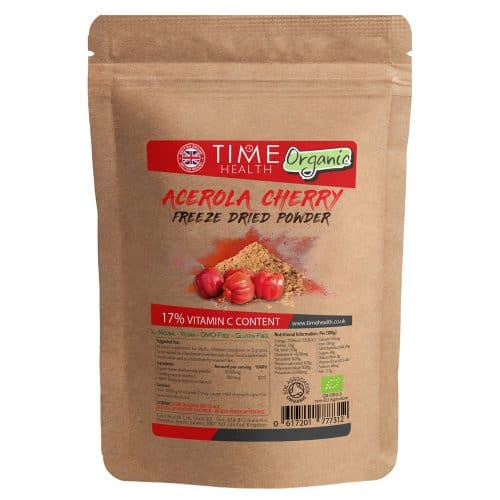 freeze dried acerola powder organic