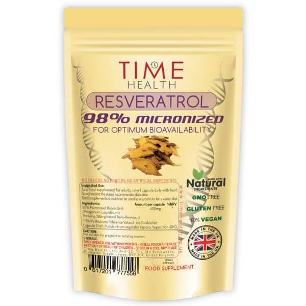 Micronized Resveratrol