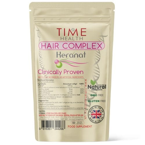 Hair Complex - Made with Keranat - Softgels