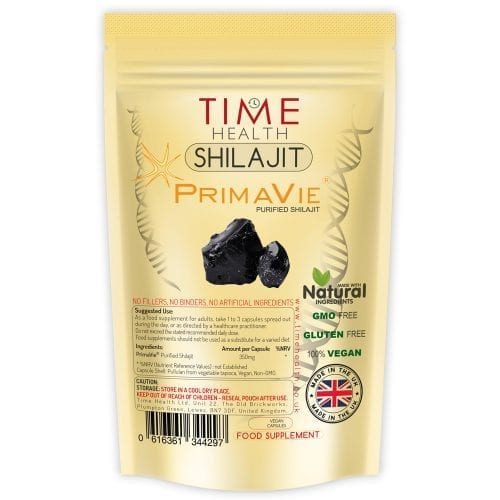 Himalayan Shilajit Capsules Formulated with PrimaVie