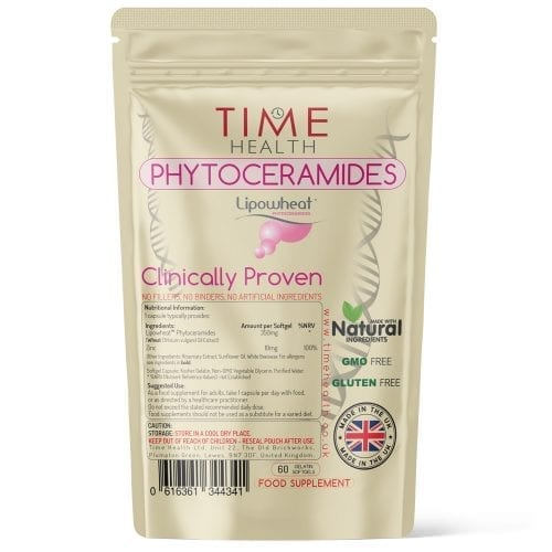 Phytoceramides - Made with Lipowheat - 60 Capsules