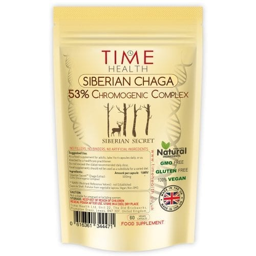 Siberian Secret Chaga with 53% Chromogenic Complex