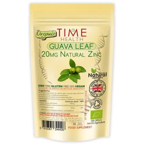 Guava Leaf Extract Zinc Capsules