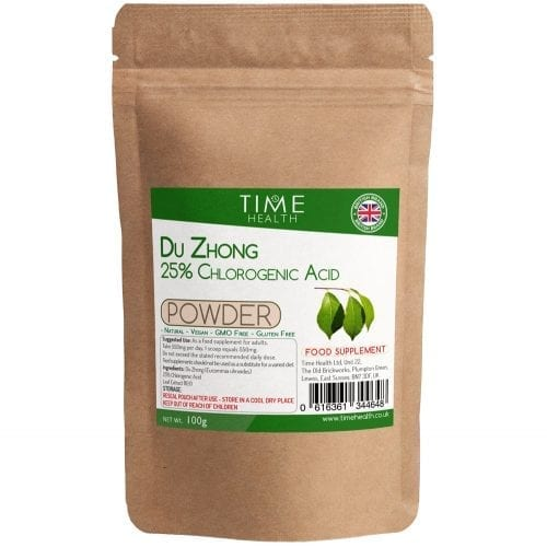 Du Zhong (Eucommia ulmoides) Leaf Extract Powder - 25% Chlorogenic Acid
