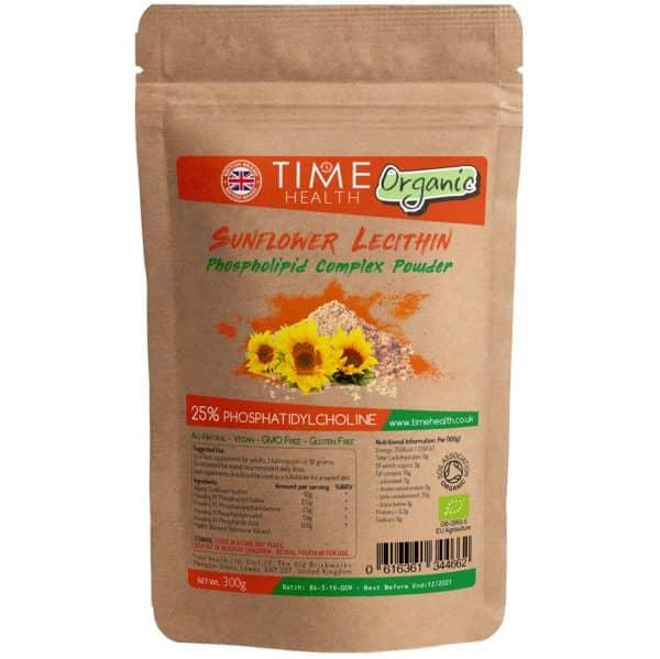 Organic Sunflower Lecithin - 25% Phosphatidylcholine