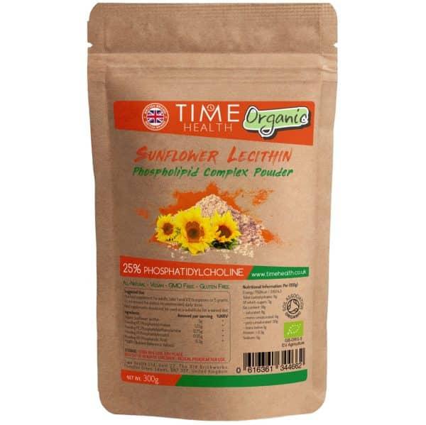 organic sunflower lecithin powder phosphatidylcholine