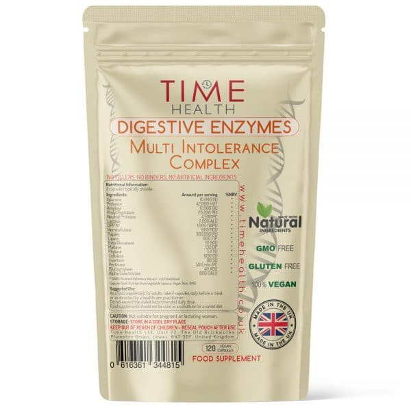 Digestive Enzymes Multi Intolerance Complex