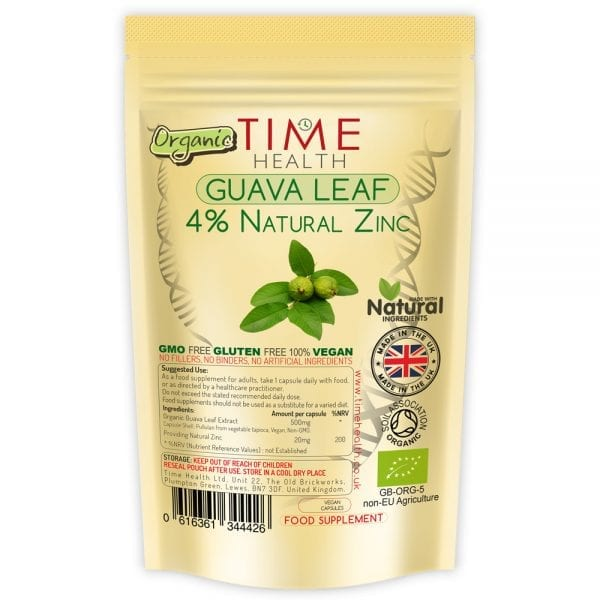 Guava Leaf Extract - Naturally High in Zinc