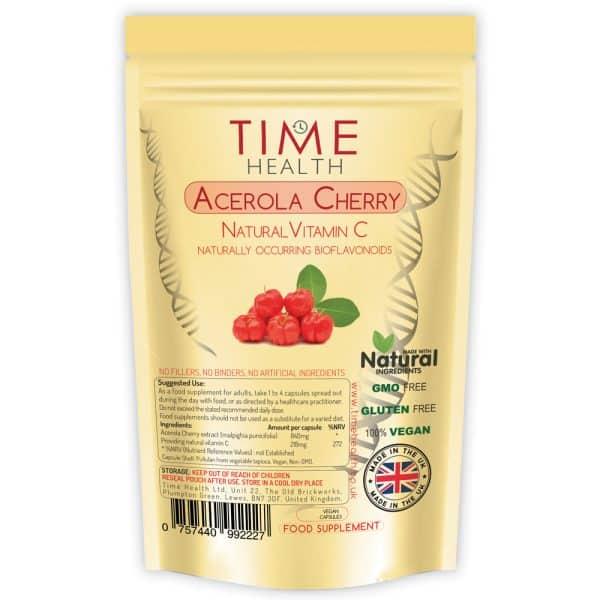 acerola cherry vitamin c capsules