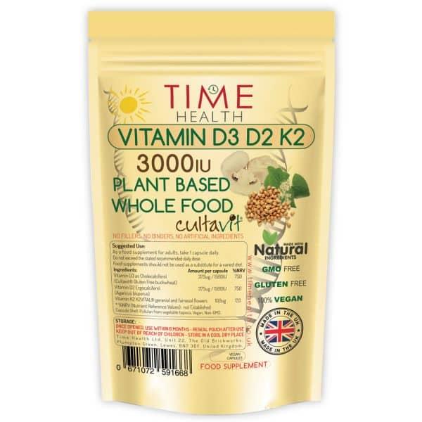 Vitamin D3, D2 & K2