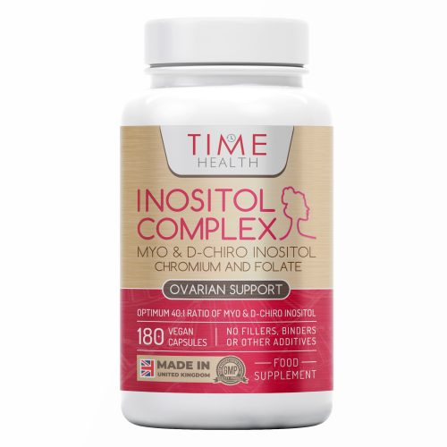 Myo & D Chiro Inositol - Supports Women with PCOS - Promotes Hormonal Balance & Normal Ovarian Function