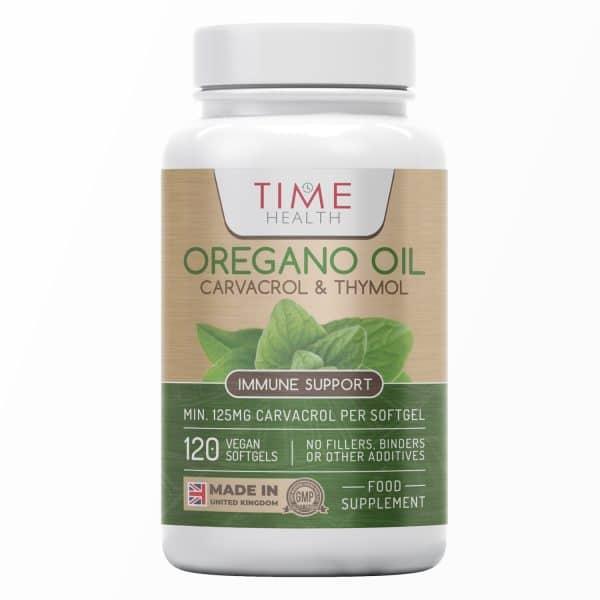 Oregano Oil Softgels - 125mg Carvacrol & 6mg Thymol