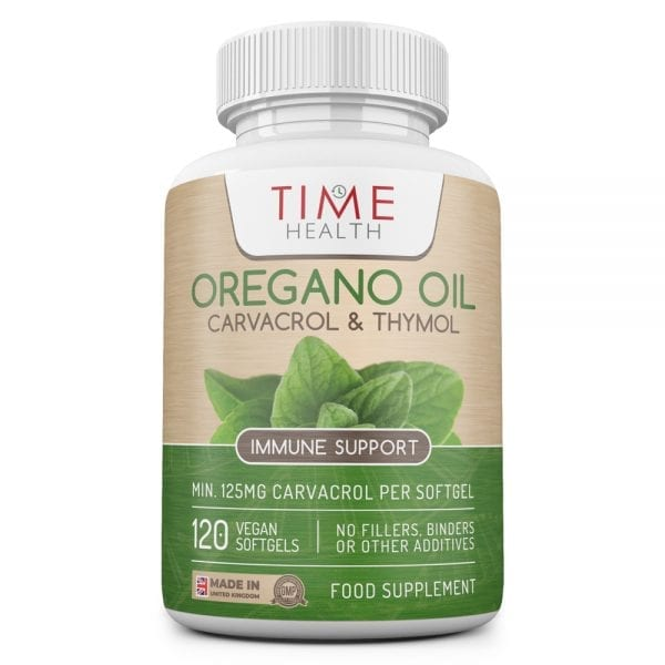 Oregano Oil Softgels - 125mg Carvacrol & 6mg Thymol