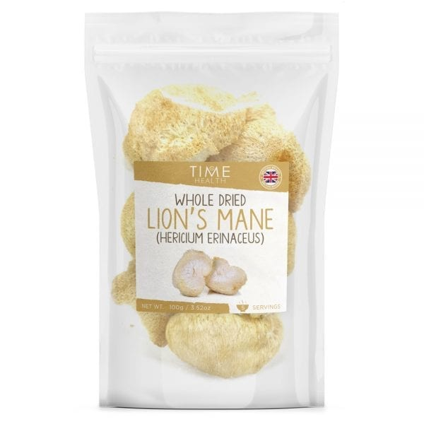 Whole Dried (Dehydrated) Lion's Mane Mushrooms - High in Protein - Medicinal Cooking Mushrooms