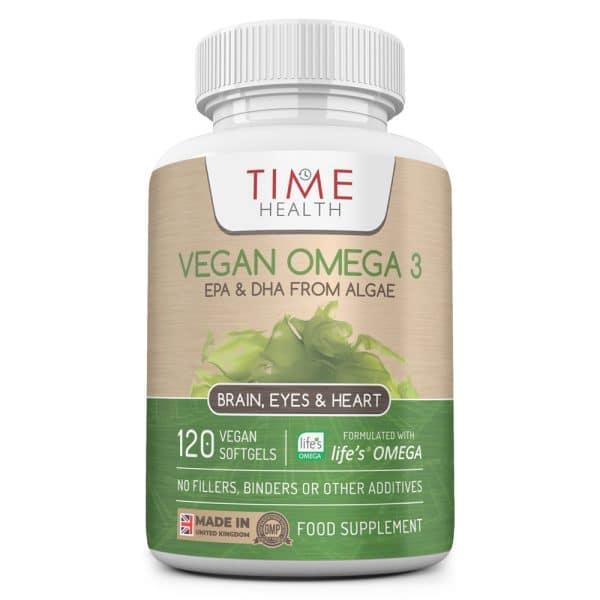 Vegan Omega 3 - EPA & DHA from Algae Oil - 120 Softgels - Sustainable Algal Alternative to Fish Oil - Vegetarian - Carrageenan Free Capsules - UK Made - No Additives