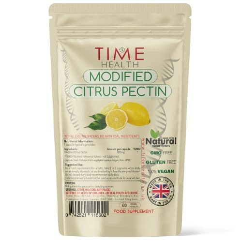 Modified Citrus Pectin - 60 Capsules - Naturally Derived from Lemon Peel