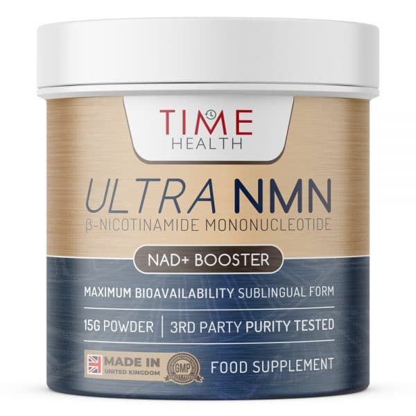 NMN (β-Nicotinamide Mononucleotide) Sublingual Powder - Rapid Action - NAD+ Booster - Cellular Energy & Anti-Ageing