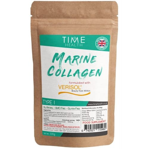 Marine Collagen Powder - Made with Premium Brand VERISOL - Rich in Protein - 300g